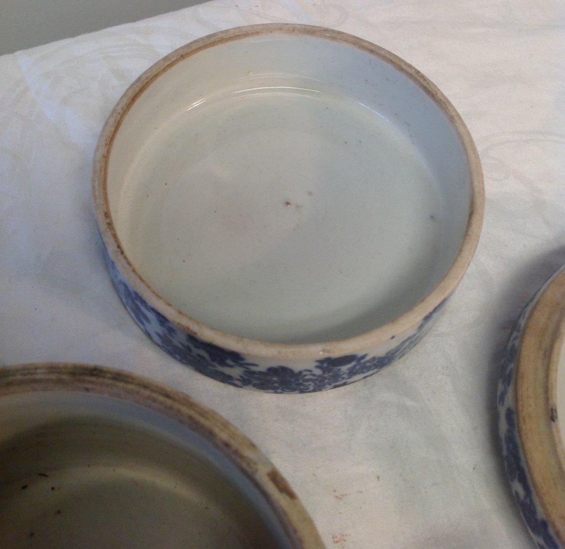 Vintage Chinese Dim Sum Tray/ Lid - 6