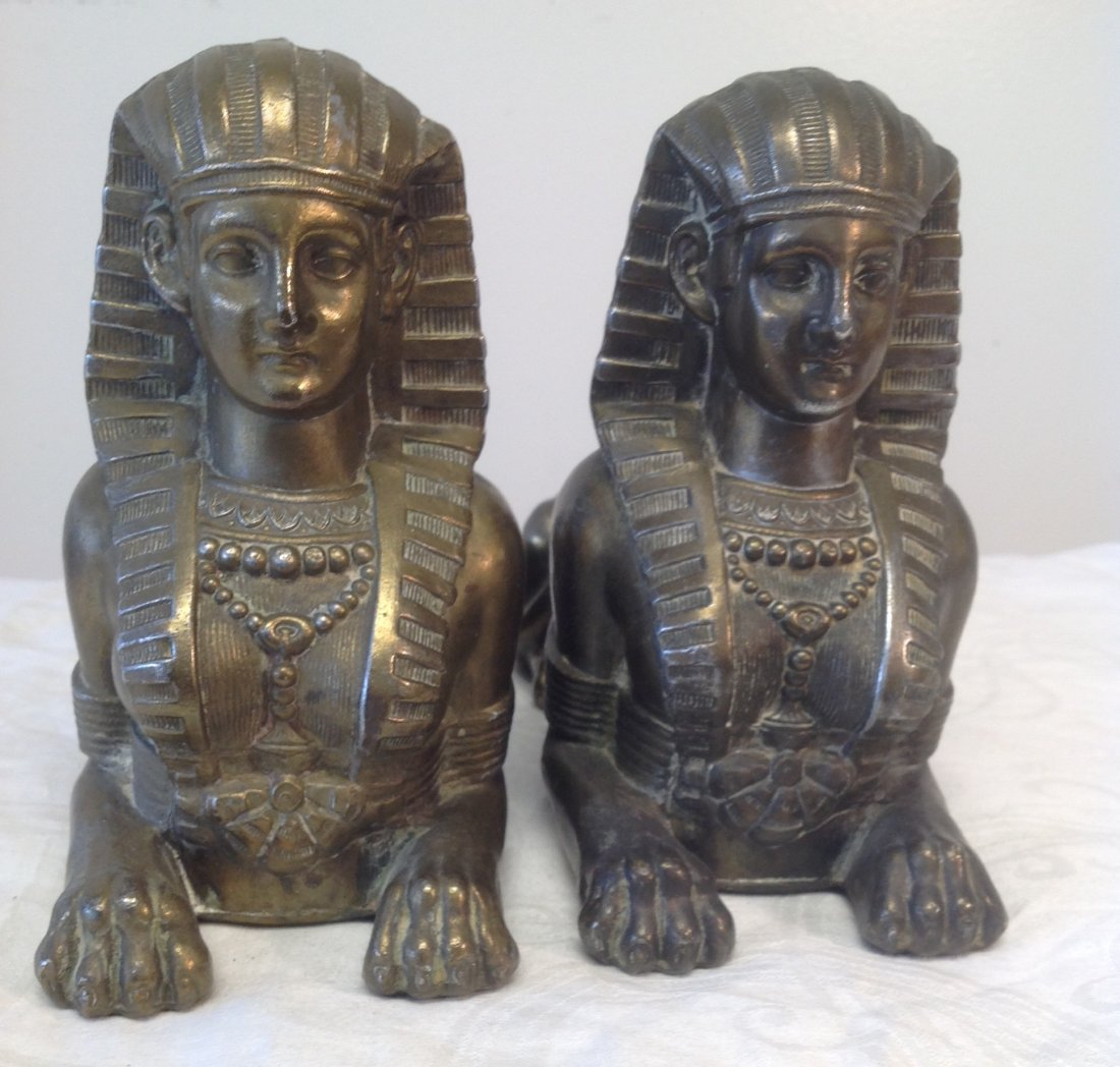 Egyptian  Sphinx Book Ends