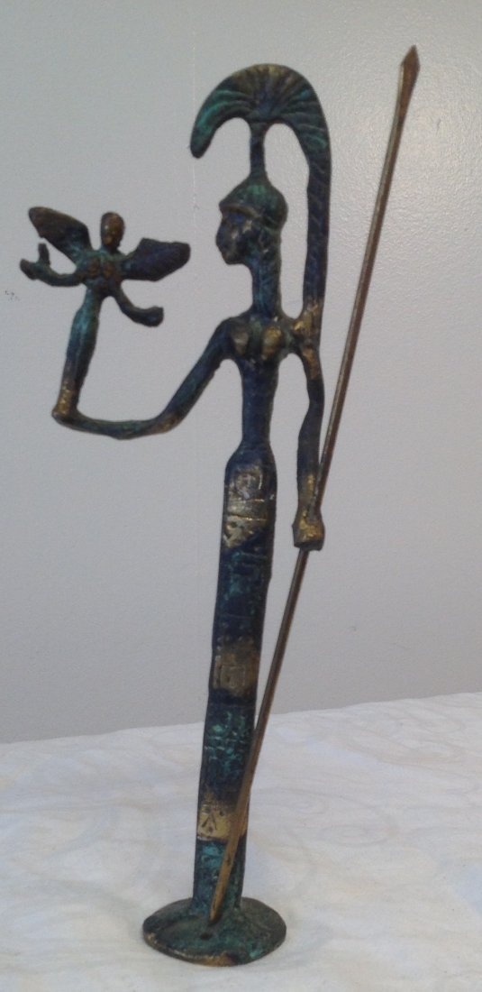 Egyptian Goddess 9.5 H - 3