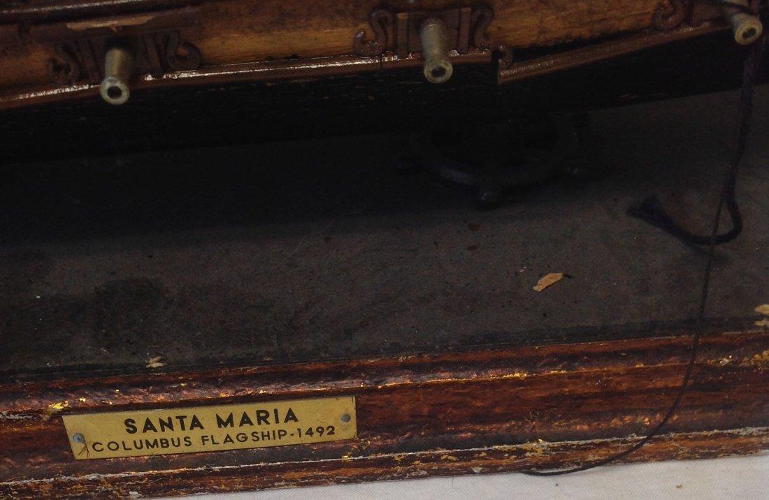 Sail boat Santa Maria model  18 x 15 - 2