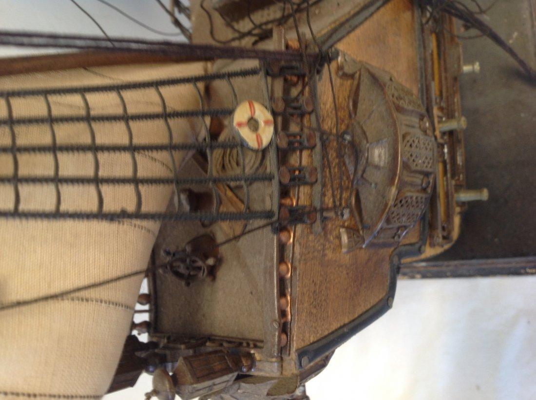 Sail boat Santa Maria model  18 x 15 - 3