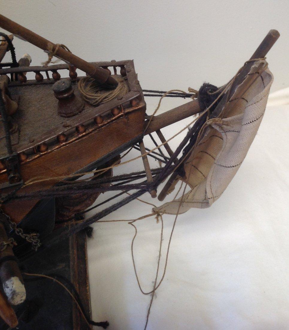 Sail boat Santa Maria model  18 x 15 - 4