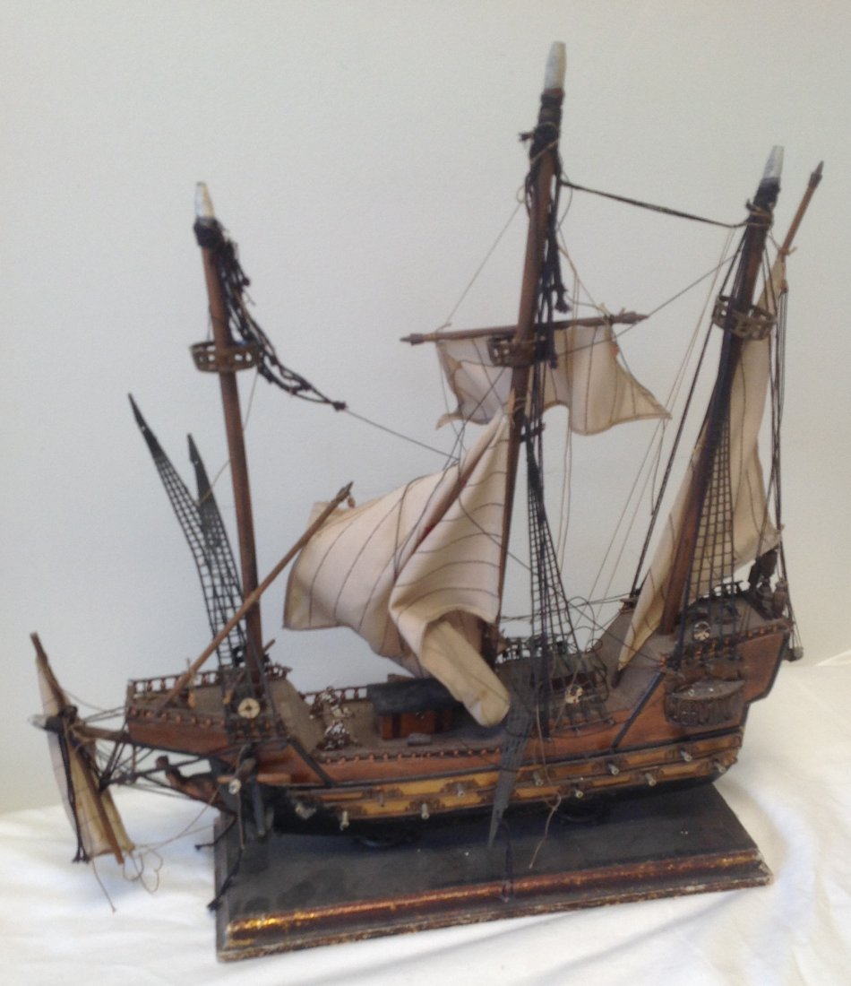 Sail boat Santa Maria model  18 x 15 - 5