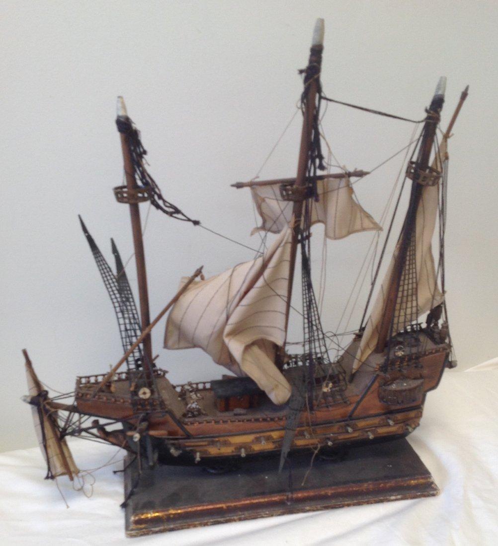 Sail boat Santa Maria model  18 x 15 - 6