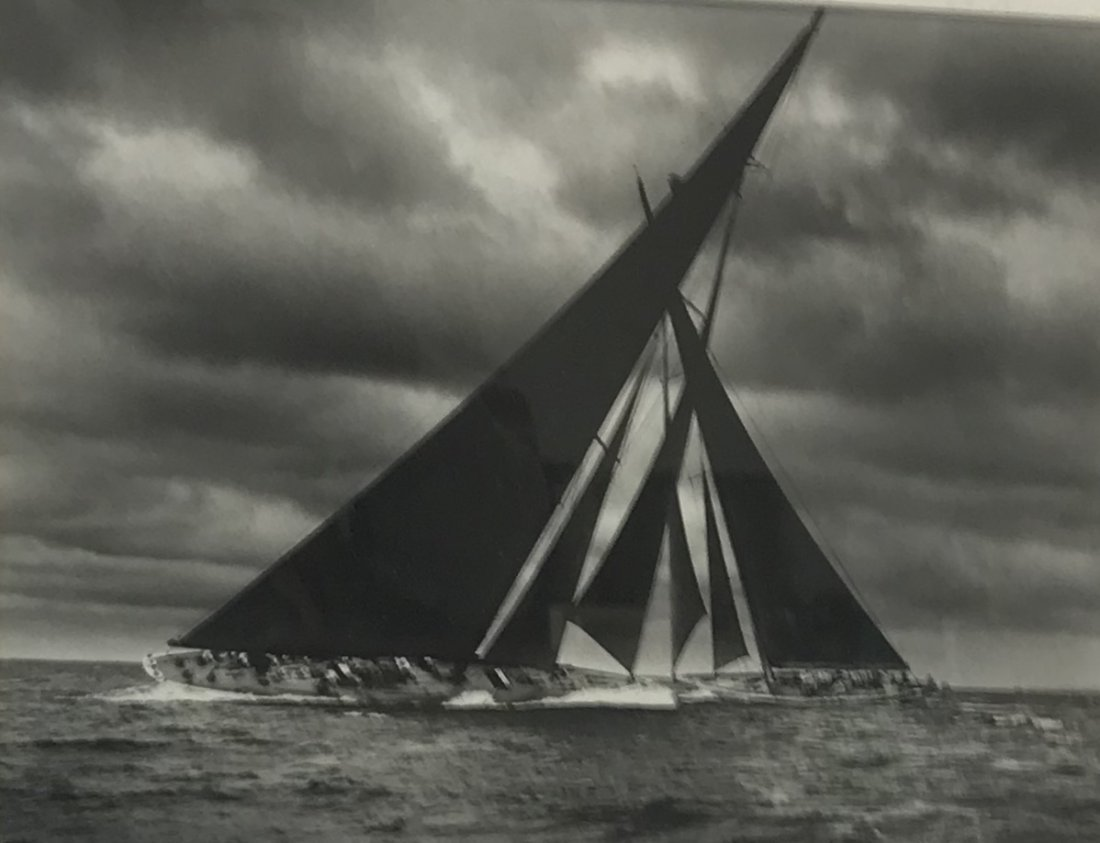 Stanley Rosenfeld Americas Cup Photograph 20 x 16