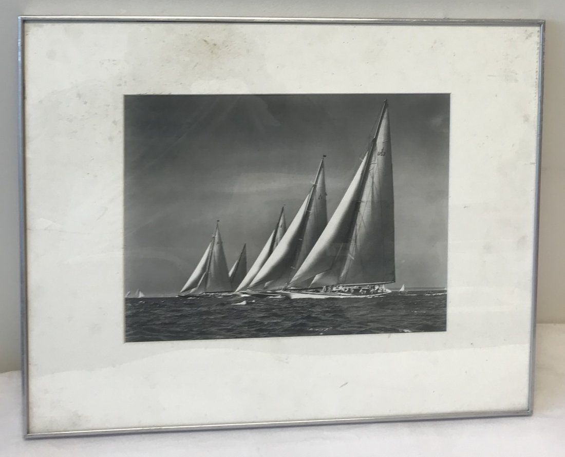Stanley Rosenfeld Americas Cup Boat Photograph 20 x 16 - 2