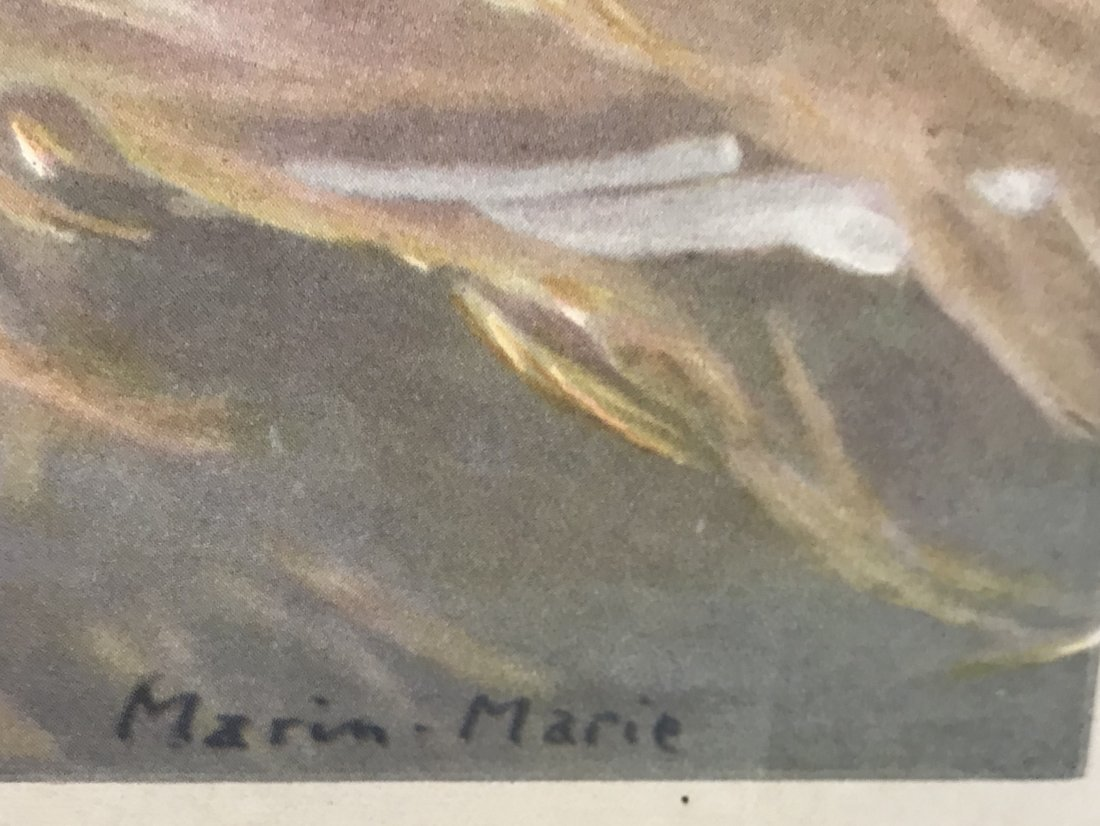 Marim Marie French Line LIBERTE Litho 30 x 22 - 5