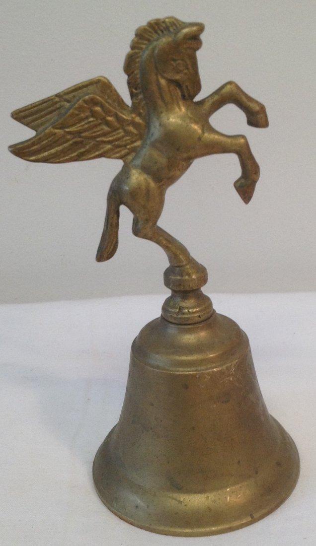 Pegasus Horse Figurine House Bell 6 H