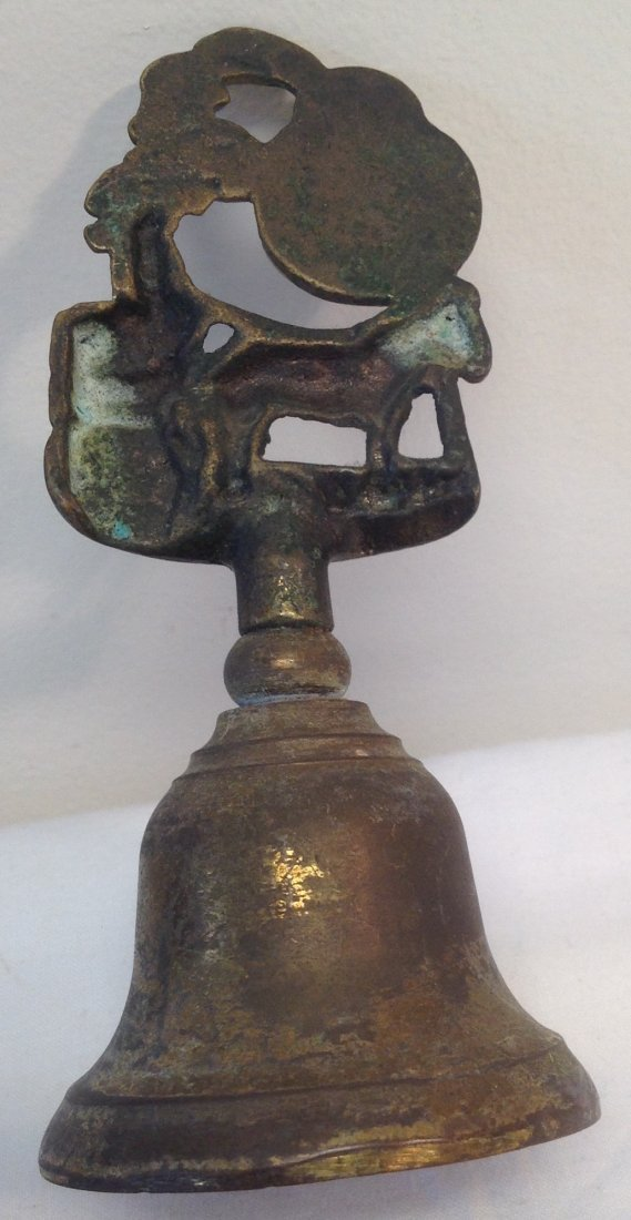 Irish Horse Figurine House Bell 5.5 H - 2