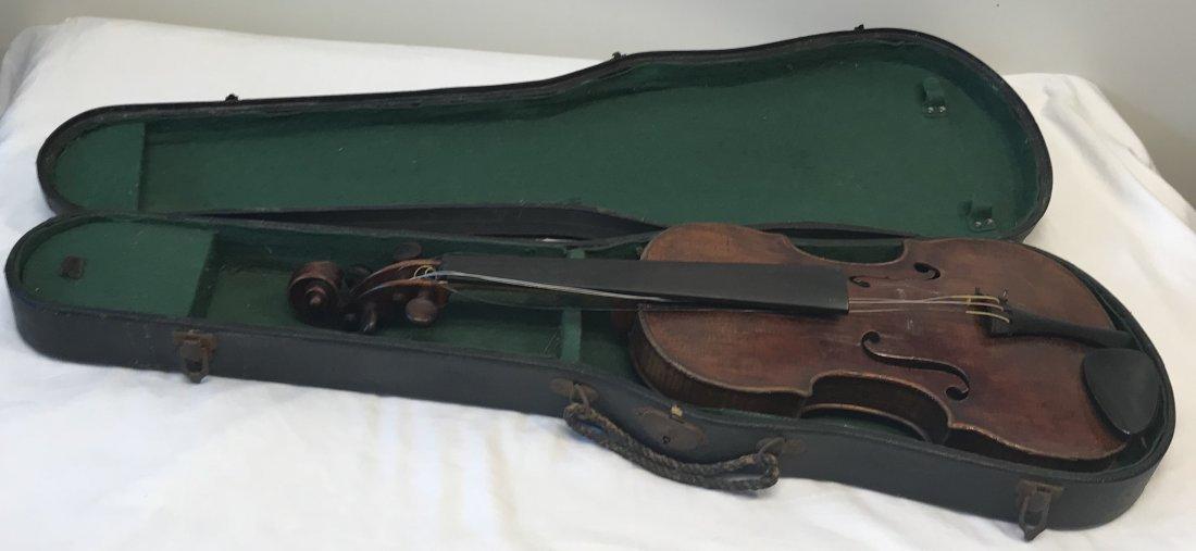 ANTONIUS PANTOLFI Violin/Box.