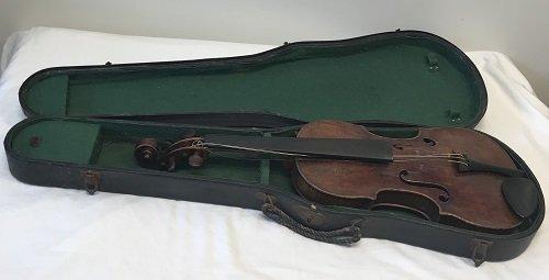 ANTONIUS PANTOLFI Violin/Box. - 2