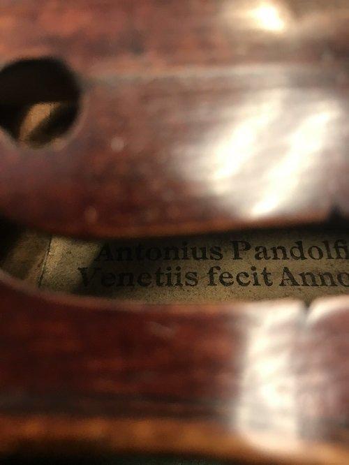 ANTONIUS PANTOLFI Violin/Box. - 4
