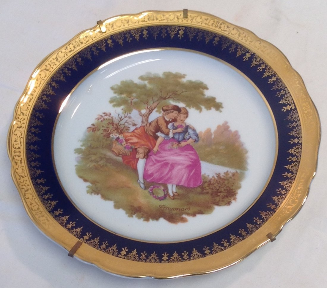 Limoges Gilt Decor Plate