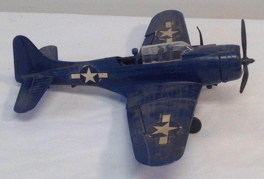 Vintage World War II Bomber Plane Model - 2