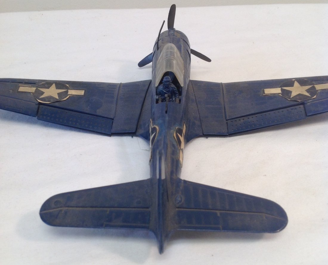 Vintage World War II Bomber Plane Model - 3