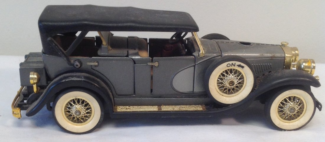 Black 1930 Duesenbero Toy Car.