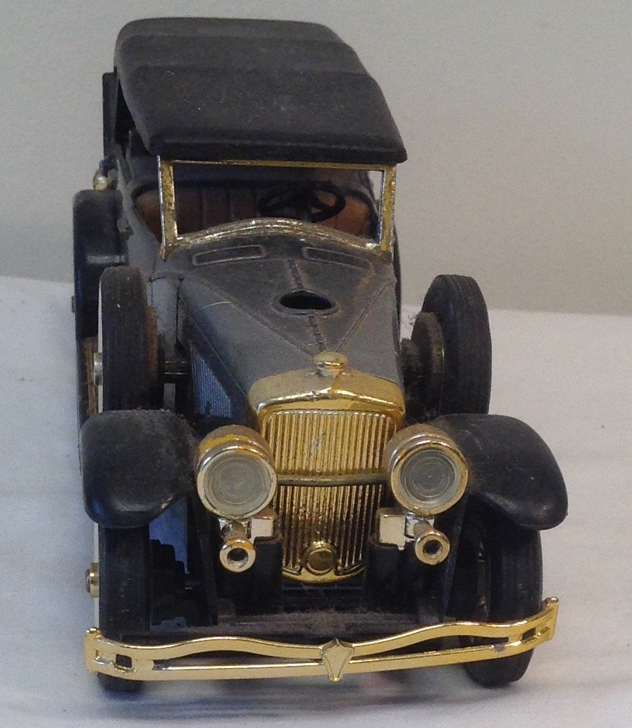 Black 1930 Duesenbero Toy Car. - 2