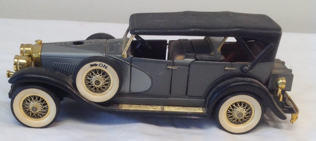 Black 1930 Duesenbero Toy Car. - 4
