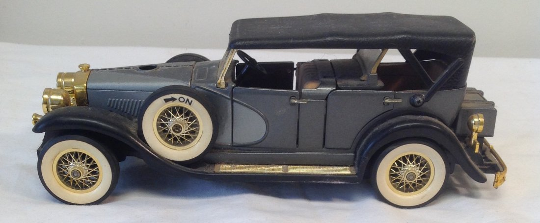 Black 1930 Duesenbero Toy Car. - 6