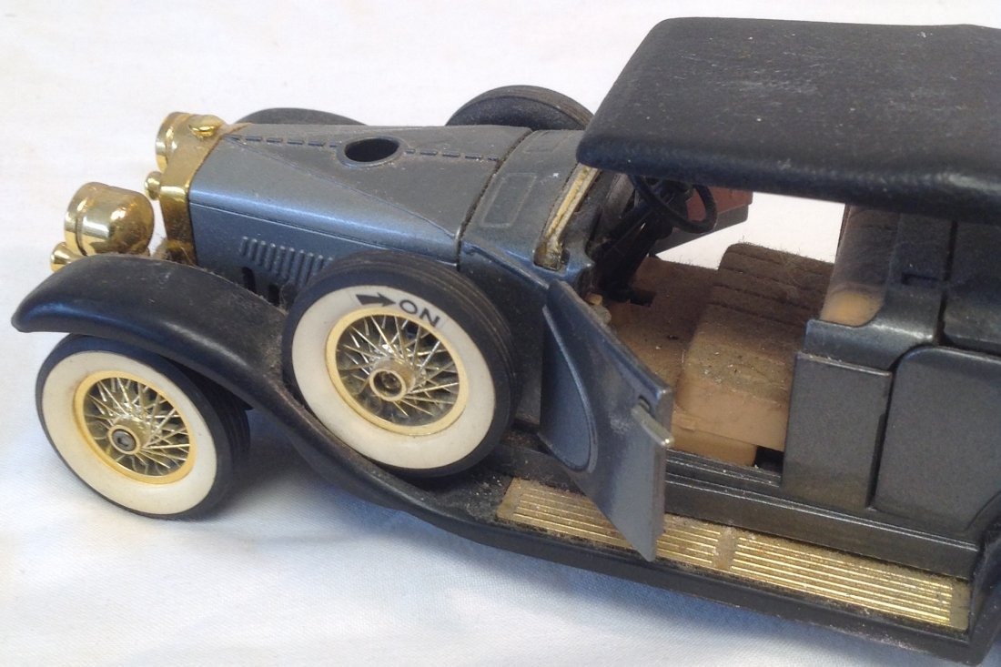 Black 1930 Duesenbero Toy Car. - 8