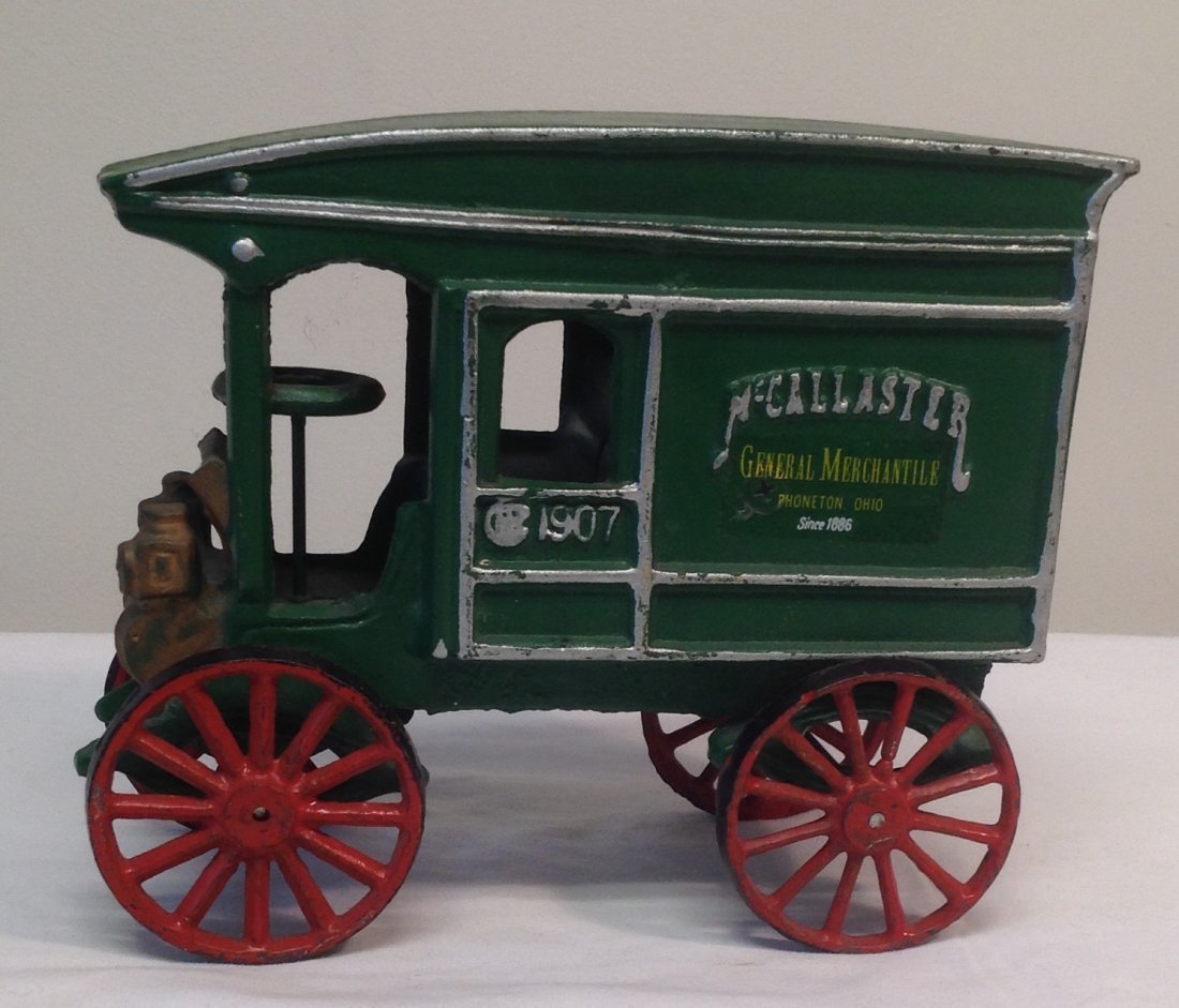 1907 McCallaster Carriage Vechicle Toy