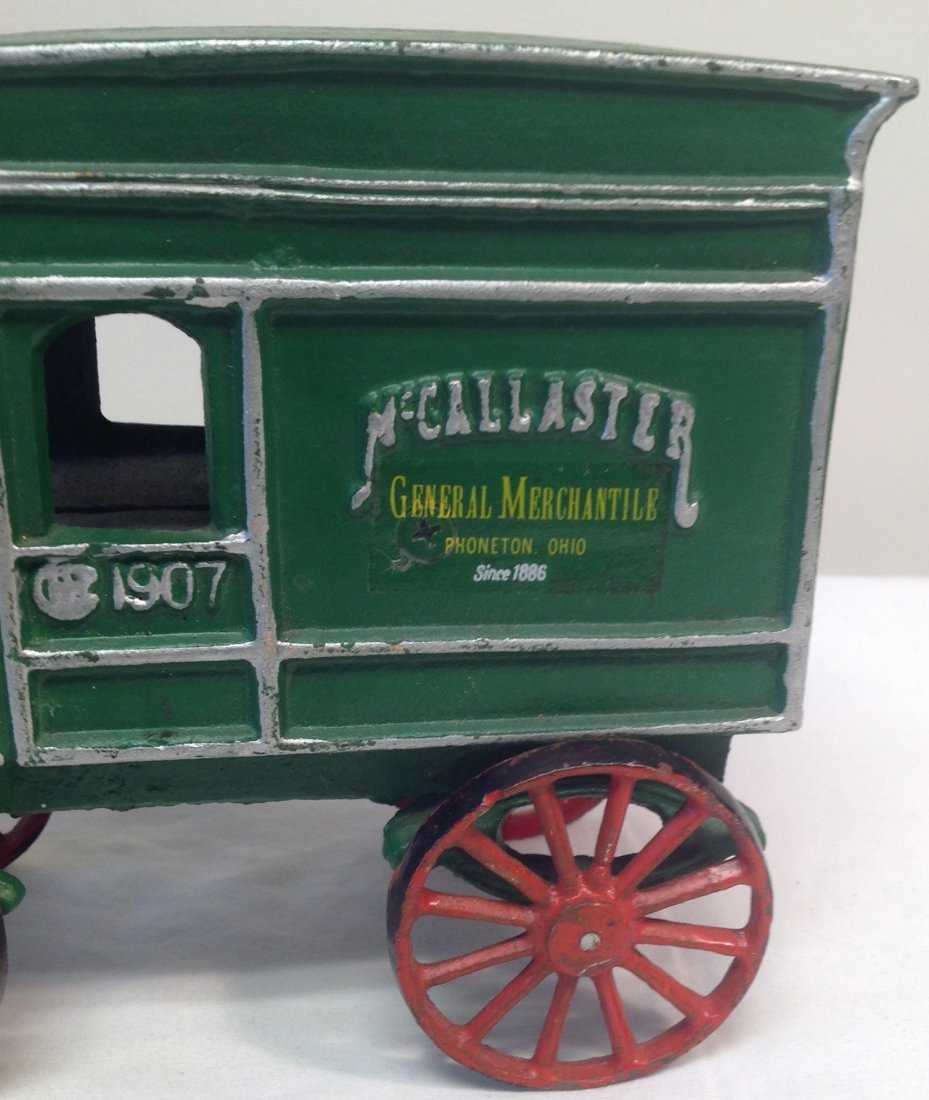 1907 McCallaster Carriage Vechicle Toy - 2