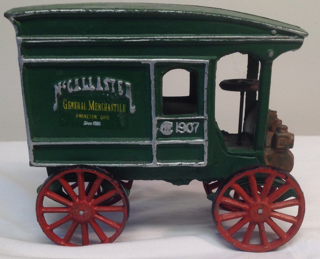 1907 McCallaster Carriage Vechicle Toy - 4