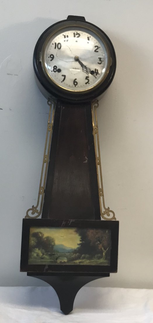 Gilbert 1807 Banjo clock