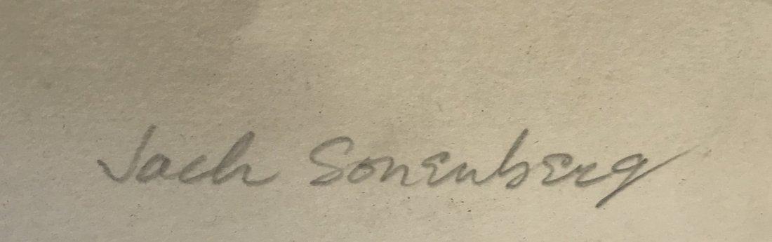 Signed Jack Sonenberg Lithograph 14/50 - 3