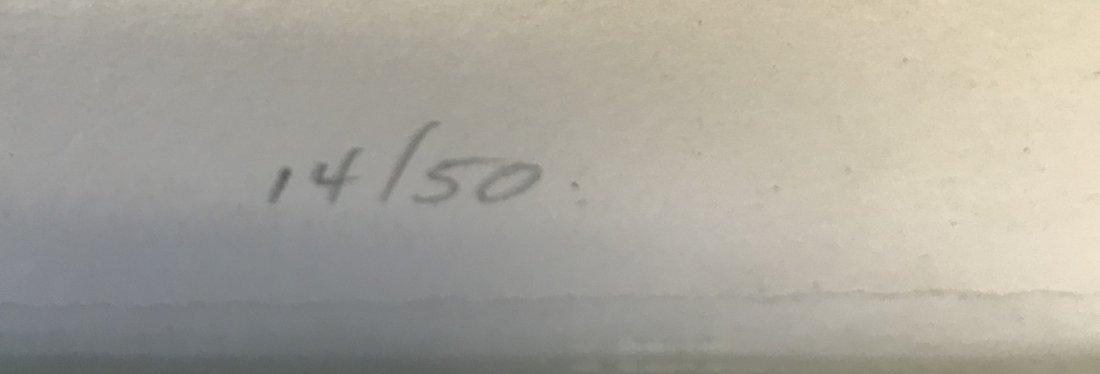 Signed Jack Sonenberg Lithograph 14/50 - 4