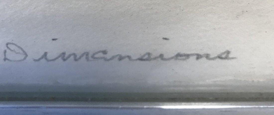 Signed Jack Sonenberg Lithograph 31/50. - 5