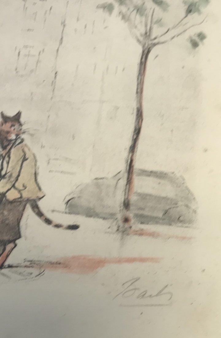 Signed Cats at Restroom Illustration - 3