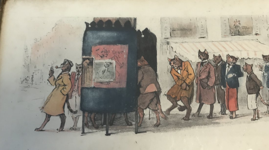 Signed Cats at Restroom Illustration - 4