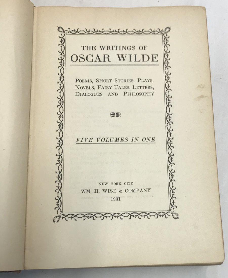 Oscar Wilde: The Writing of Oscar Wilde . - 4
