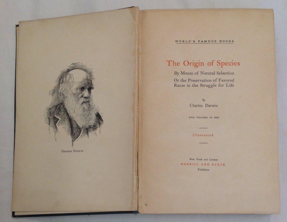 Charles Darwin:The Orgiin of Species - 2