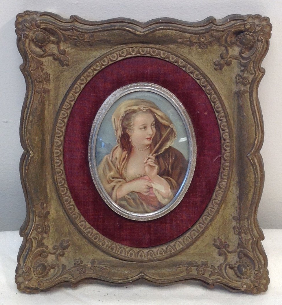 Sir Thomas Lawrence- Lady Portrait Print 7 x 6