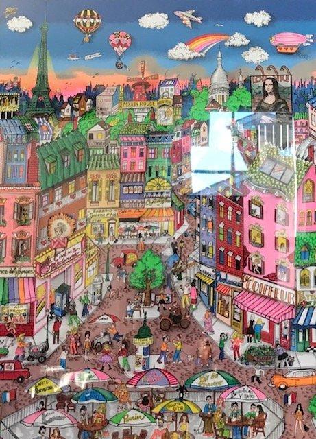 Charles Fazzino 3D Art/CITY OF LOVE