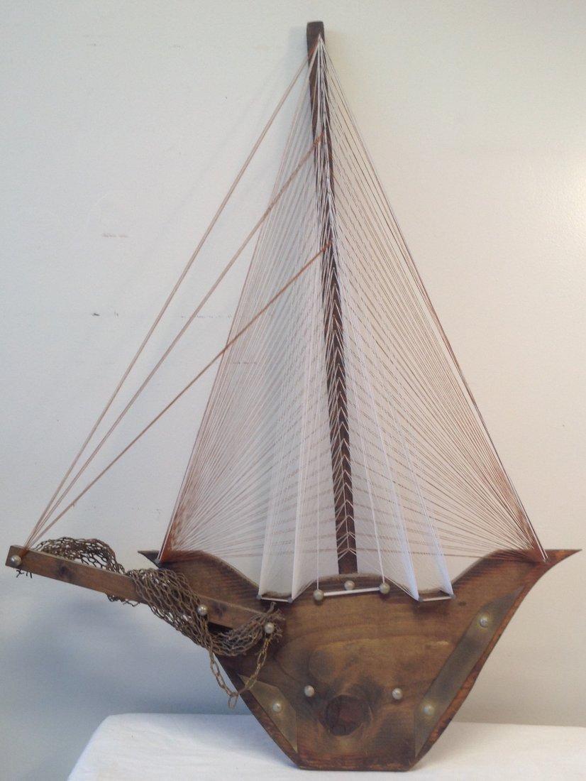 Sail Boat Wall Hanging 32 x 22