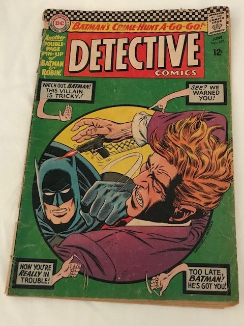 Detective Comics Batman Crime Hunt A Go Go