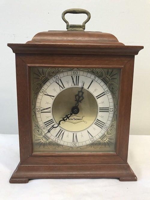 Vintage American Seth Thomas Desk Clock