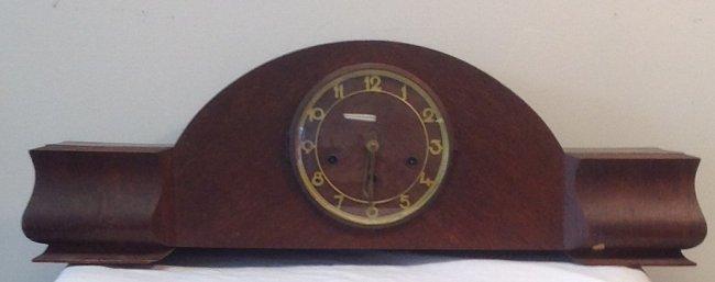 Vintage Gold Mantle Clock