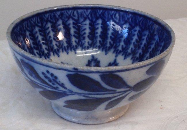 Chinese Blue & White Rice Bowl