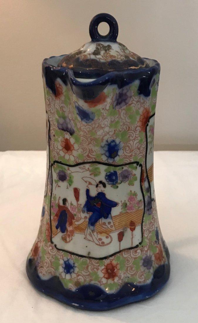 Antique Japanese porcelain Teapot W/Lid