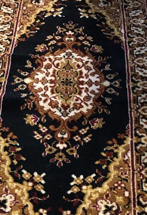 Persian Rug 100% Wool 47 x 23