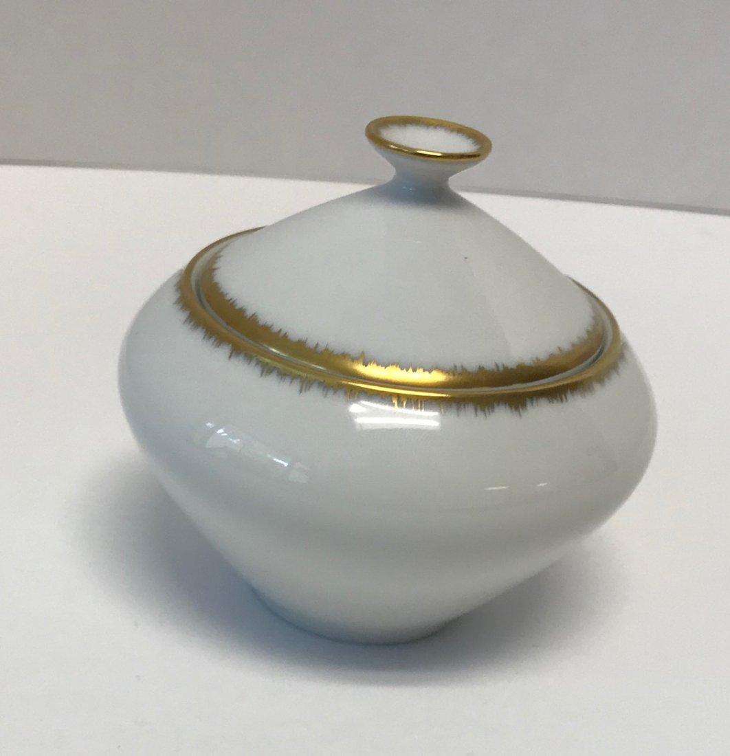 """H&G Selb """"Gracie"""" small Gilt sugar bowl & lid"""