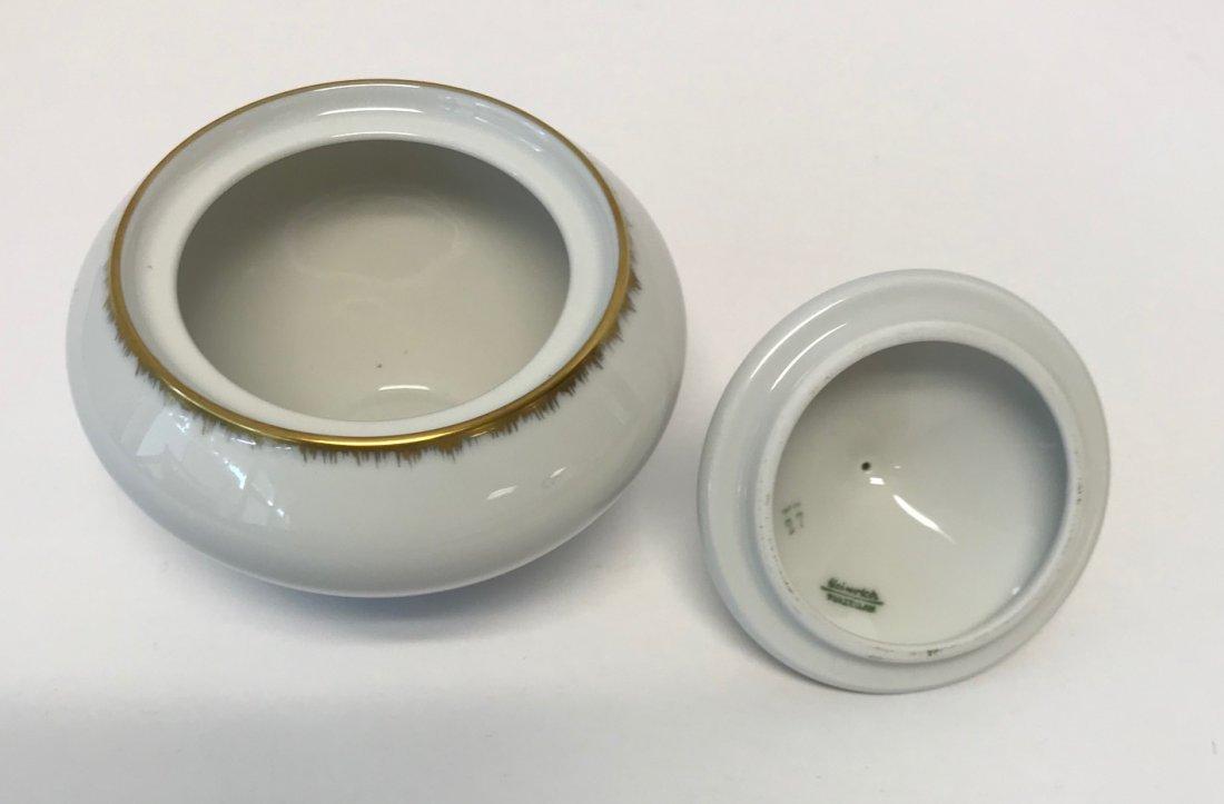 """H&G Selb """"Gracie"""" small Gilt sugar bowl & lid - 2"""