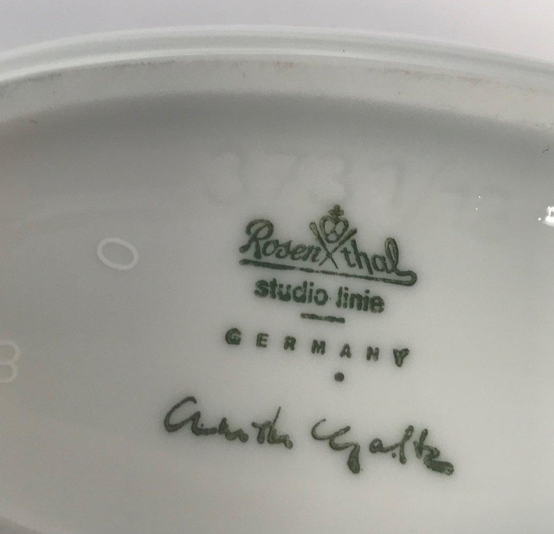 "Rosenthal  Arthur Galtz ""Studio-Linie"" floral  vase - 4"