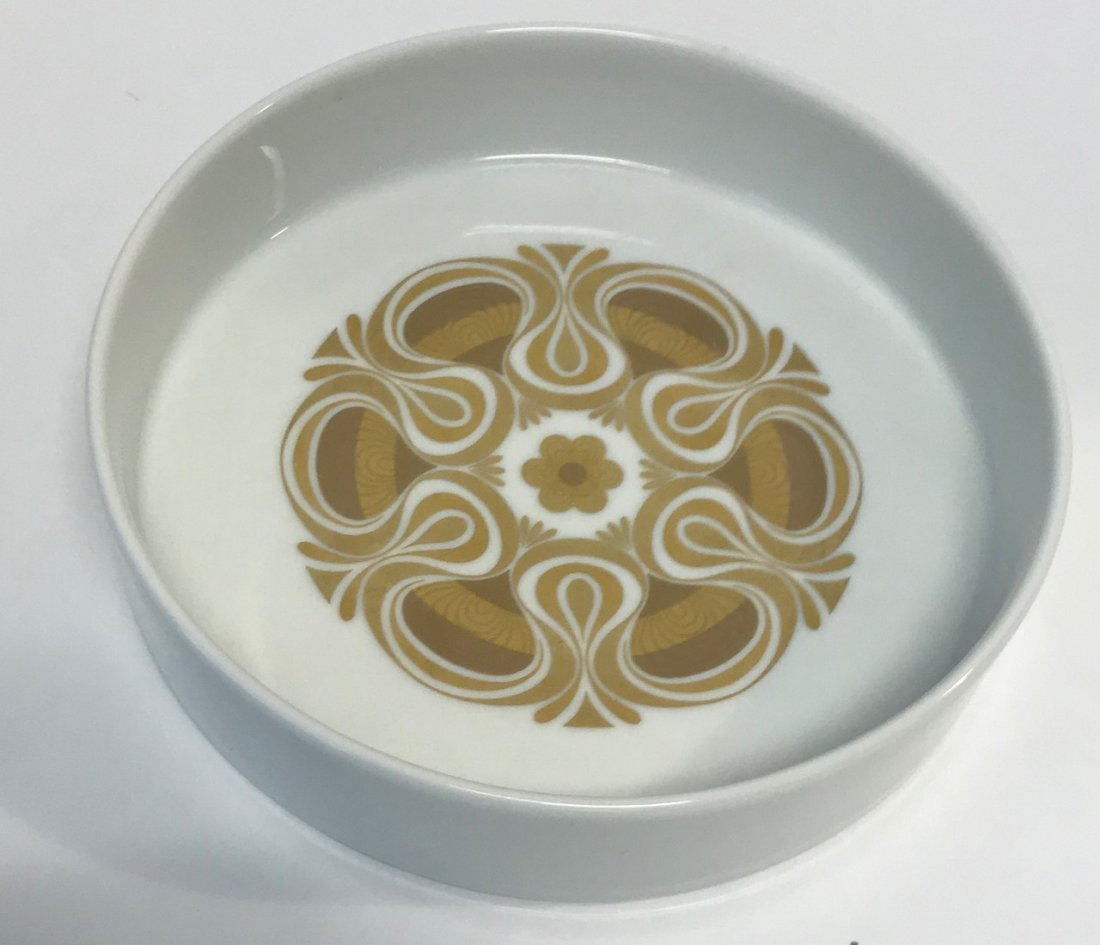 Rosenthal Gilt floral saucer