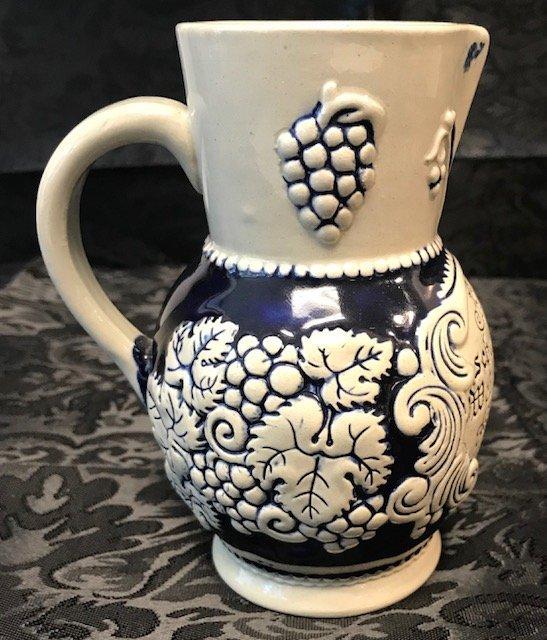 German Marzi Remi 1/4 L wine pitcher stamped 2956