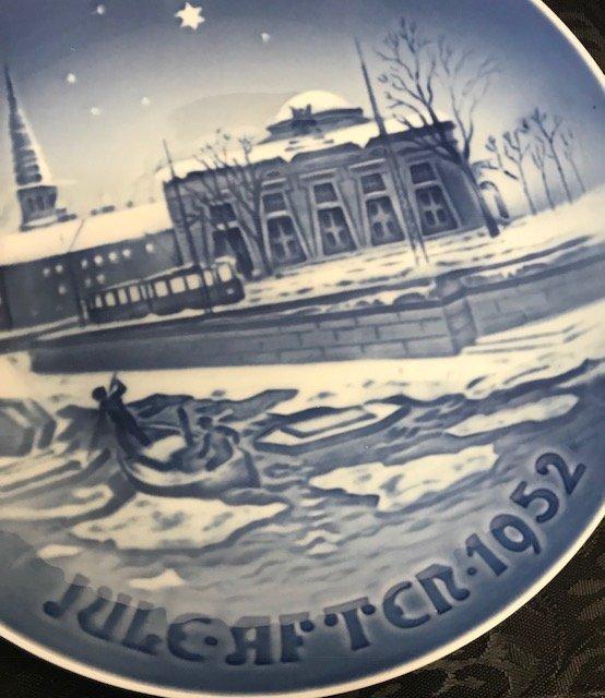 1952 B & G Thorvaldsen Museum Copenhagen Canal - 2